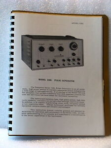 Systron Donner 108l Pulse Generator Instruction And Maintenance Manual