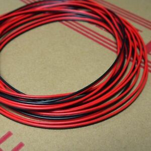 Stranded Ul 2468 Pvc 2p Red Black Flat Ribbon Wire Cable 16 18 20 24 26 28awg Il