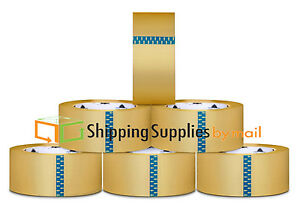 36 Rolls 2 x110 Yards 330 ft Box Carton Sealing Packing Package Tape Clear 2mil