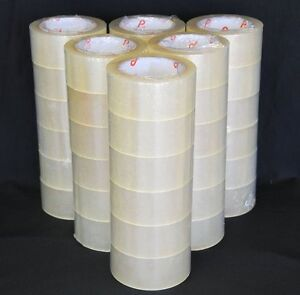 A Case Of 36 Rolls Of 2 Mil Industrial Tape Each Roll Is 2 Wide X 330 Long