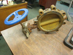 Nibco Butterfly Valve Ld2000 Nl082 8 200psi Used