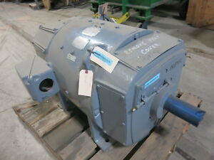 Rebuilt General Electric Dc Motor Cd506at 125 Hp 500 V 1150 2000 Rpm Spfg sv Ge