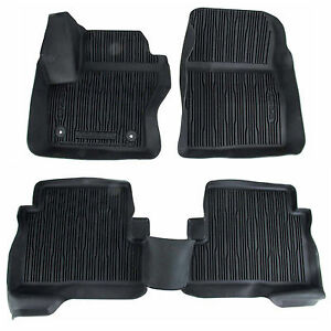 Oem New 2013 2019 Ford Escape All weather Vinyl Floor Mats Rubber Catch all