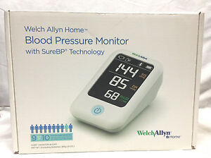 Welch Allyn Home 1700 Blood Pressure Monitor With Surebp Patented Technology