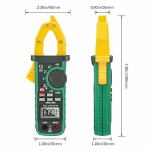 Digital Clamp Meter Liumy Auto ranging Ac dc Clamp Multimeter With Ncv Work