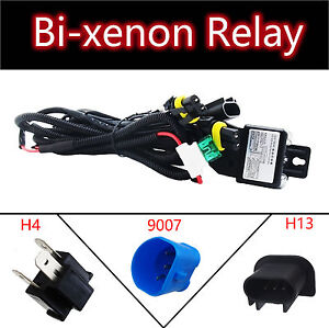 Hid Relay Harness 9007 4 H13 9008 H4 9003 Bi Xenon Wiring Controller Headlights