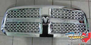 2013 2018 Ram 1500 Chrome Front Grille With Honeycomb Inserts Mopar Oem