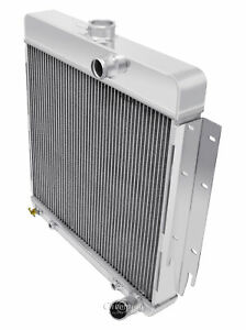 Plymouth Valiant Aluminum 3 Row Champion Radiator 3 2 3 7 L6 Engines Cc63dt