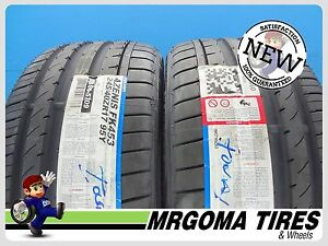 2 New 245 40 17 Falken Azenis Fk453 Xl Tires Mercedes Slc Class 95y 2454017