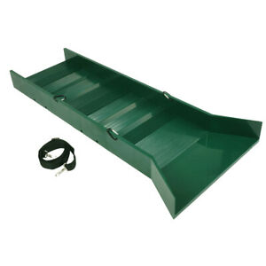 30 Lightweight Green Sluice Box With Shoulder Strap And 3 Carabiners