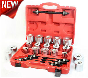 Universal Press Pull Sleeve Kit Bush Bearing Removal Insertion Tool Set 27pc Hp