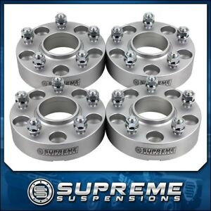 For 87 12 Wrangler Liberty 5x4 5 5x5 Hubcentric Lip 2 Wheel Spacer Adapters