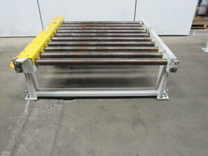 1hp 460v Modular Section Power Live Roller Pallet Conveyor 50 wx60 lx20 h 29fpm