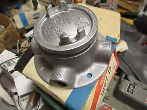 Crouse Hinds Guft16 1 2 Explosion Proof Outlet Box New