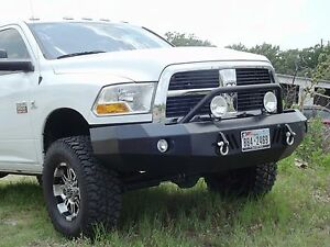 New Panther Winch Front Bumper 10 11 12 13 14 15 16 17 18 Dodge Ram 2500 3500