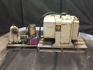 Gidding And Lewis Bickford 4th Axis Rotary Table 18 With Tail Stock