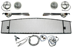 Mustang Gt Fog Light Grille Kit Complete Brand New 1964 1965 65 Quality Parts