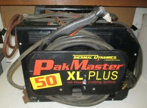 Thermal Dynamics Pakmaster Xlp Plasma Cutter