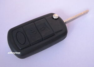 Oem Land Range Rover Keyless Entry Remote Fob Transmitter New Case W Uncut Key