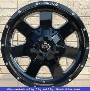4 New 18 Wheels Rims For Chevy Silverado 1500 6 Lug 25041