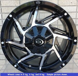 4 New 17 Wheels Rims For Toyota Sequoia Tundra 2wd 4wd 6 Lug 25044