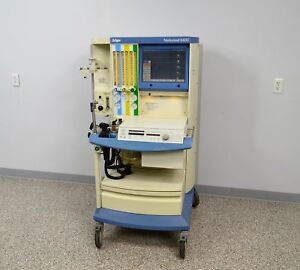 Drager Narkomed 6000 6400 Anesthesia Monitor Medical Surgical W Flow Sensor