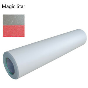 0 69x31yd 3mil Magic Star Pattern Laminating Adhesive Glue Cold After Printing