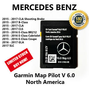 Mercedes Benz Cla Cls Gla Slc B E Class 2017 Navigation Sd Card Garmin Map Pilot