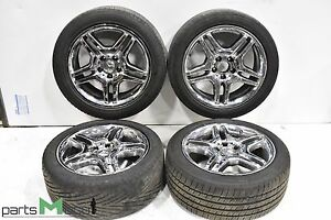 Mercedes W220 W215 Cl55 S55 Amg Cl500 18 Inch Wheel Rims Set 4 Chrome