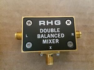 Rhg Dms1 26 Double Balanced Mixer Rf Microwave 1 26ghz Hp 0955 0307 18 199 1