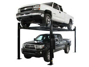 Atlas Garage Pro 8000 Ext L Portable 8 000 Lbs Capacity 4 Post Lift
