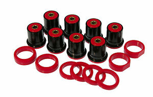 Prothane 65 88 Chevy Chevelle Rear Control Arm Bushing Red Kit