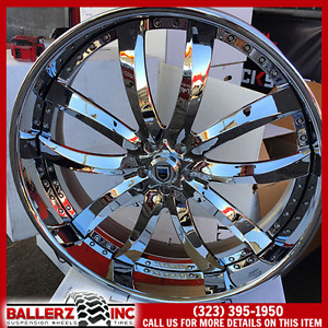 28 Asanti Staggered Af601 W Tires Donk Bubble Chevy Buick 5x5 C10 26 Forgiato