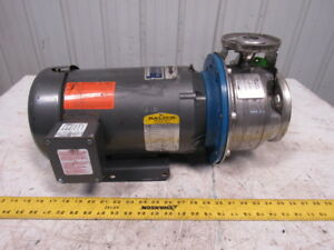 G l Pump 9shk6 Model Ssh 5hp 1x2 6 Ss Centrifugal Pump 6 62 Impeller