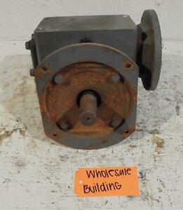 Sterling Electric Worm Gear Speed Reducer 4kq87s040 40 1 Ratio 1750 Rpm