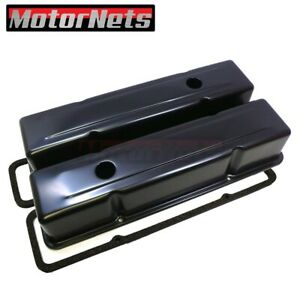 Black Sbc Small Block Chevy Black Tall Valve Cover rubber Gasket 283 327 400 350
