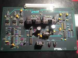 Melco Emt Works With Ramdom Failure Spare Parts Pcb Lv Driver Assembly