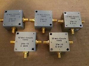 Mini circuits Zfm 15 Frequency Mixer 10mhz 3ghz Sma f Lo If Rf Microwave