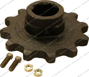 766380 Feederhouse Chain Sprocket Center For Ford New Holland Tr75 Combines