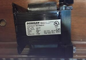 Dongan Industrial Control Transformer Hc 0500 41 Single Phase 50 60 Hz
