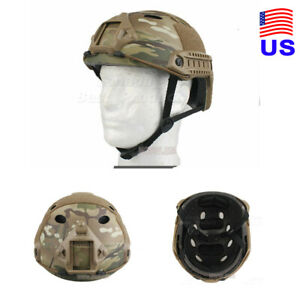 Fast PJ Style Tactical Airsoft Helmet Without Goggles Low Price MC USA $41.39