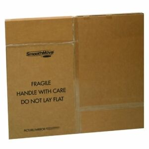 Bankers Box Smoothmove Moving Boxes For Tvs Pictures And Mirrors Adjustable