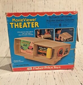 fisher price toy movie viewer theater 1977