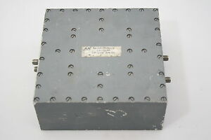 Micro Tronics Rf Microwave Diplexer W Injector Rx 813 852 Tx 860 895 Mhz Tested