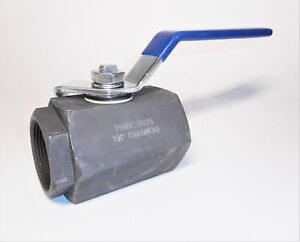 Nibco T580 csr25v Two Piece Carbon Steel Ball Valve 1 1 2 Inch