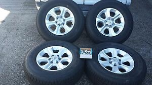 2015 Toyota Fj Cruiser Tacoma 4 Runner 6 Lug Factory Oem Wheels Tires 265 70r17