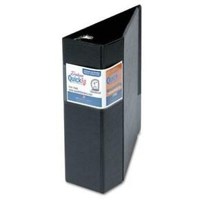 Schneider Quick Fit D ring Binder 4 Capacity Black 29061