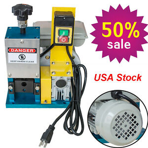 Usa Automatic Cable Stripper Tool Powered Electric Copper Wire Stripping Machine