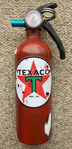 Rat Rod Texaco Distressed Look Car Boat Rv Fire Extinguisher New Metal Handle