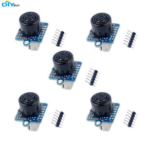 5pcs Gy us42 Flight Control Ultrasonic Range Module For Pixhawk Arduino 3 5v Iic